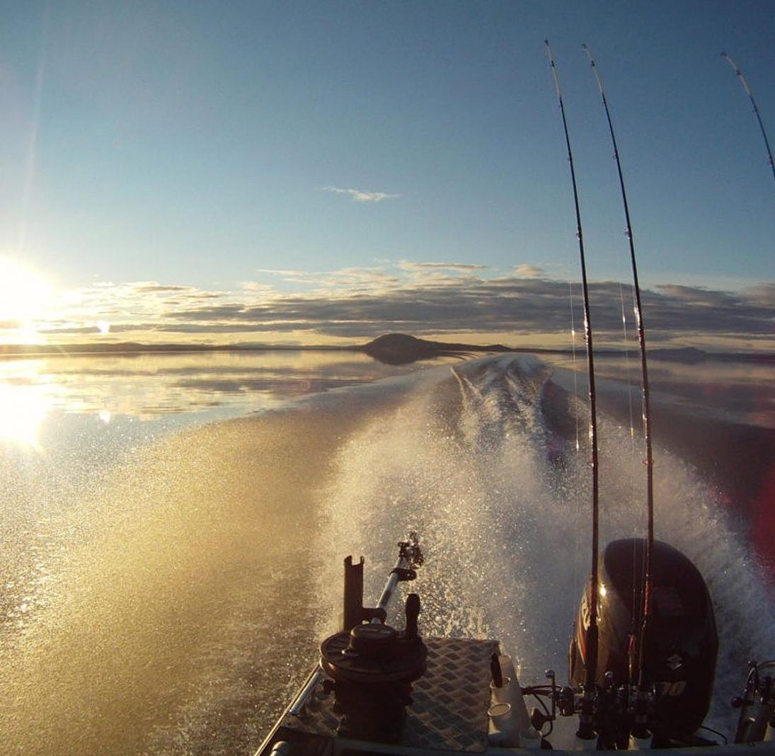 Kalastusretki Oulujärvellä
