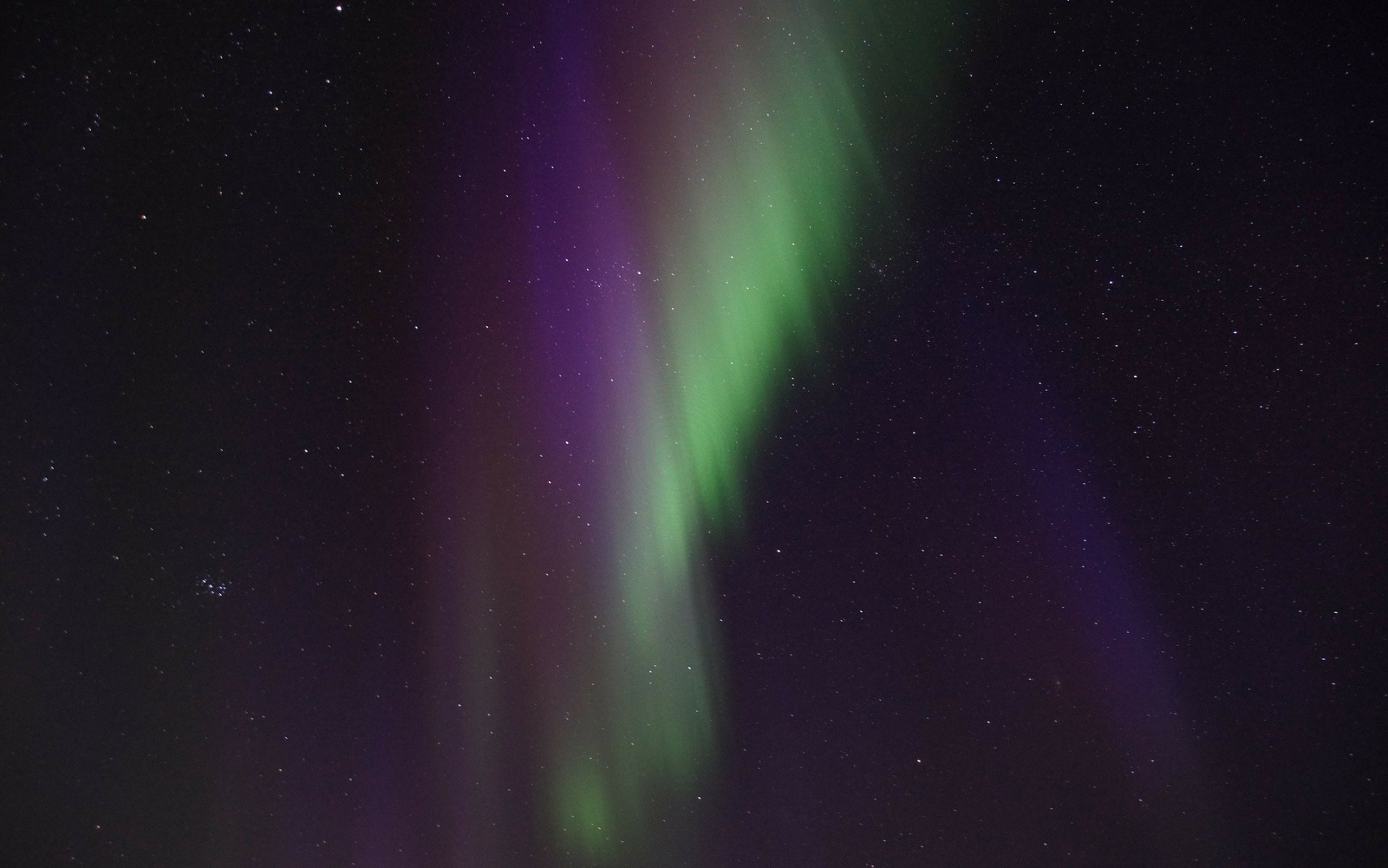 Aurora Hunting On Snowshoes
